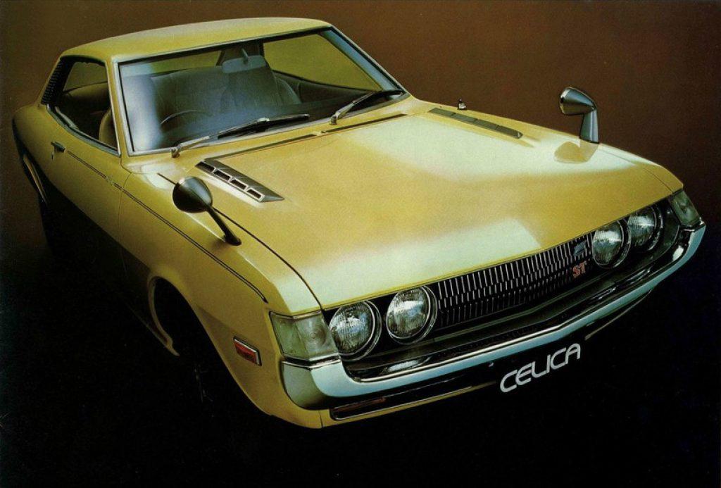 the original Toyota Celica from 1970