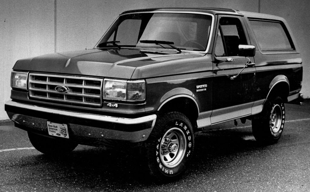 A Ford Bronco used car for sale