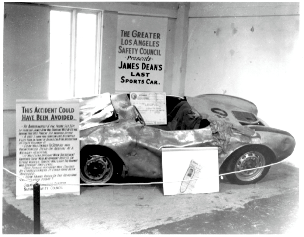 Porsche wreck used for safety education