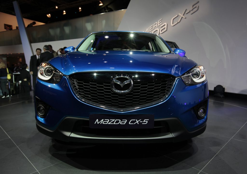 The Mazda CX-5 was picked over the Jeep Compass