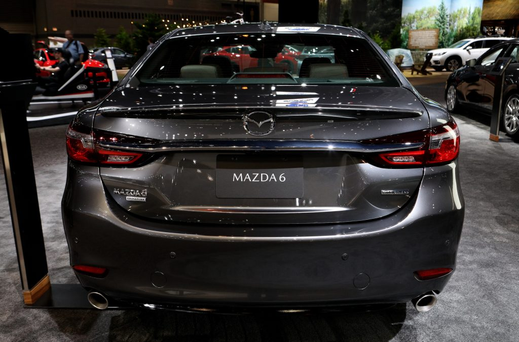 2020 Mazda6 is on display at the 112th Annual Chicago Auto Show at McCormick Place