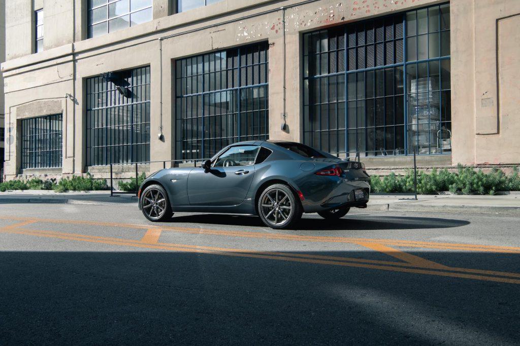 An image of a Mazda MX-5 Miata outdoors.