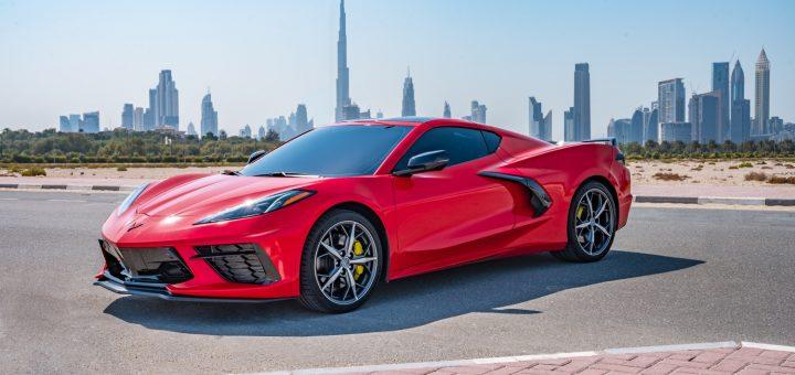 New Torch Red Corvette