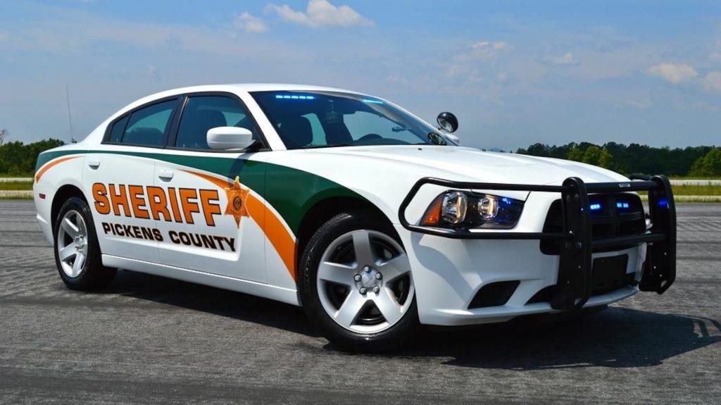Pickens-County-Sheriff squad car