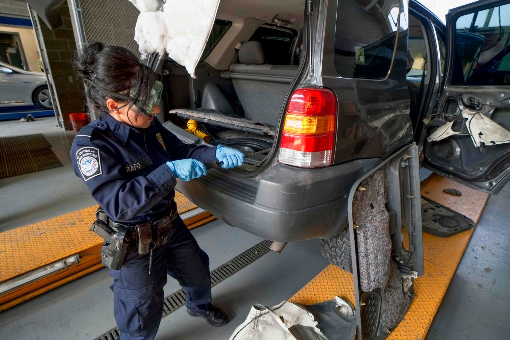 car searches at the border