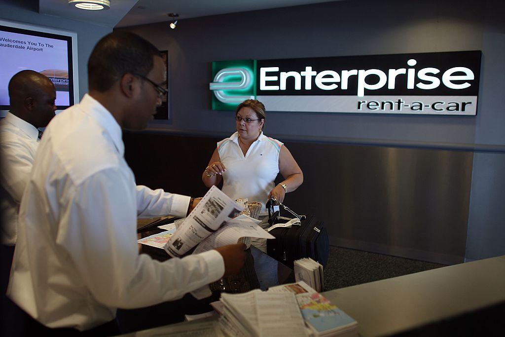 Enterprise rental order desk