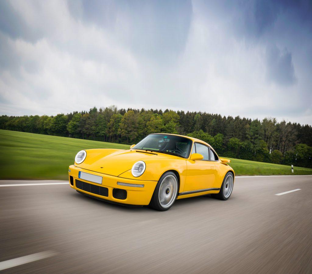A Yellowbird Ruf Porsche 911