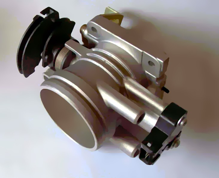 A picture of a throttle body