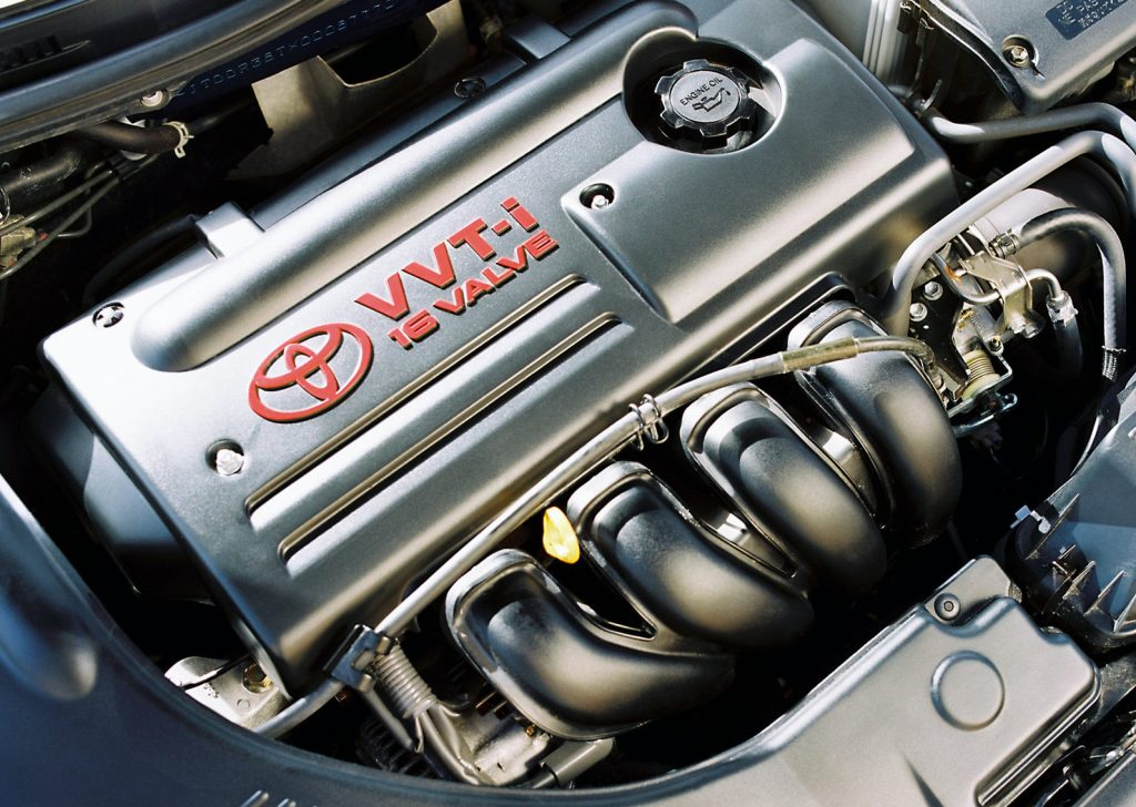 a shot of the 2003 Toyota Celica GT-S engine