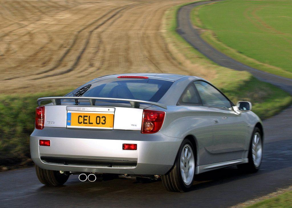 2003 Toyota Celica GT-S rear shot