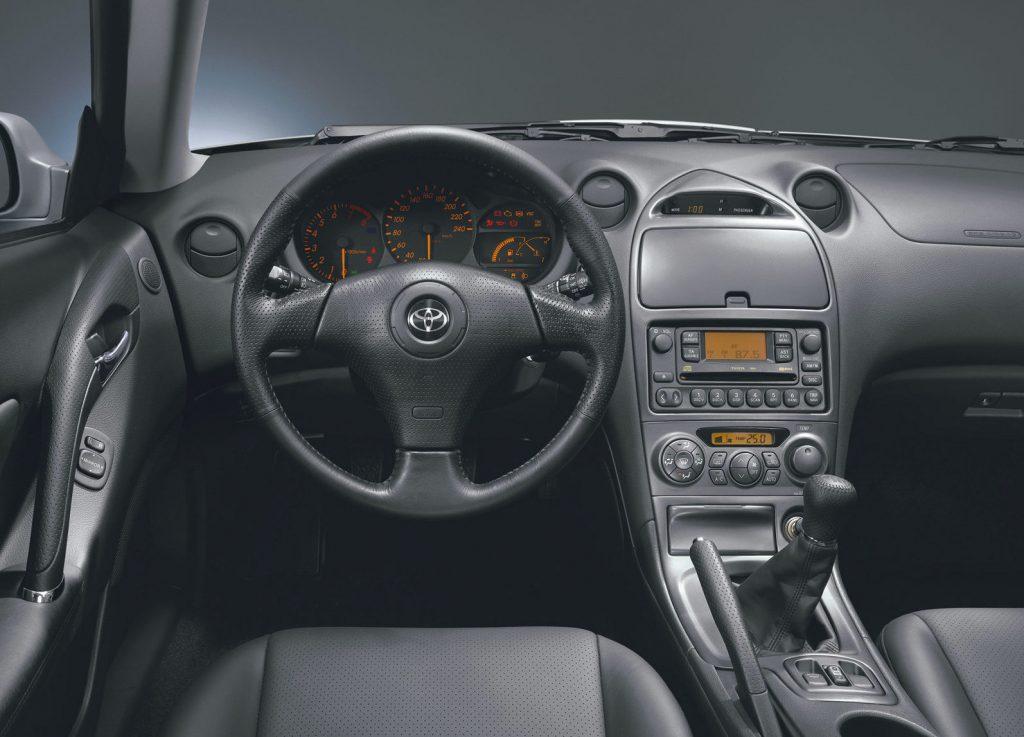 2003 Toyota Celica GT-S interior
