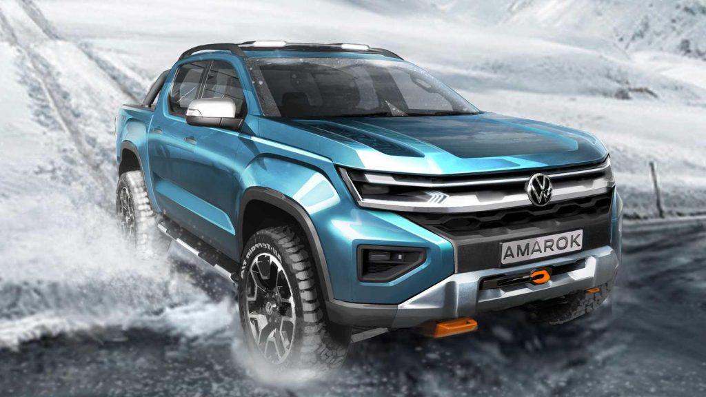 VW Amarok concept rendering
