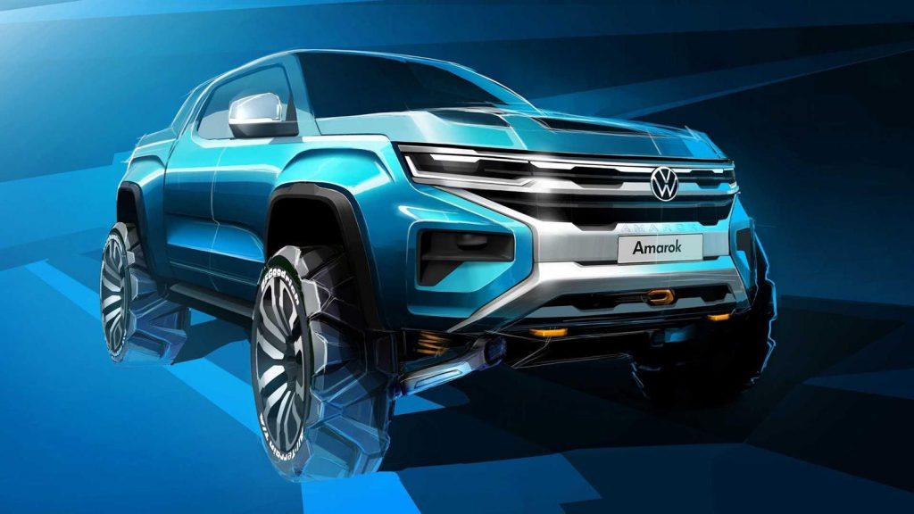 VW pickup concept rendering