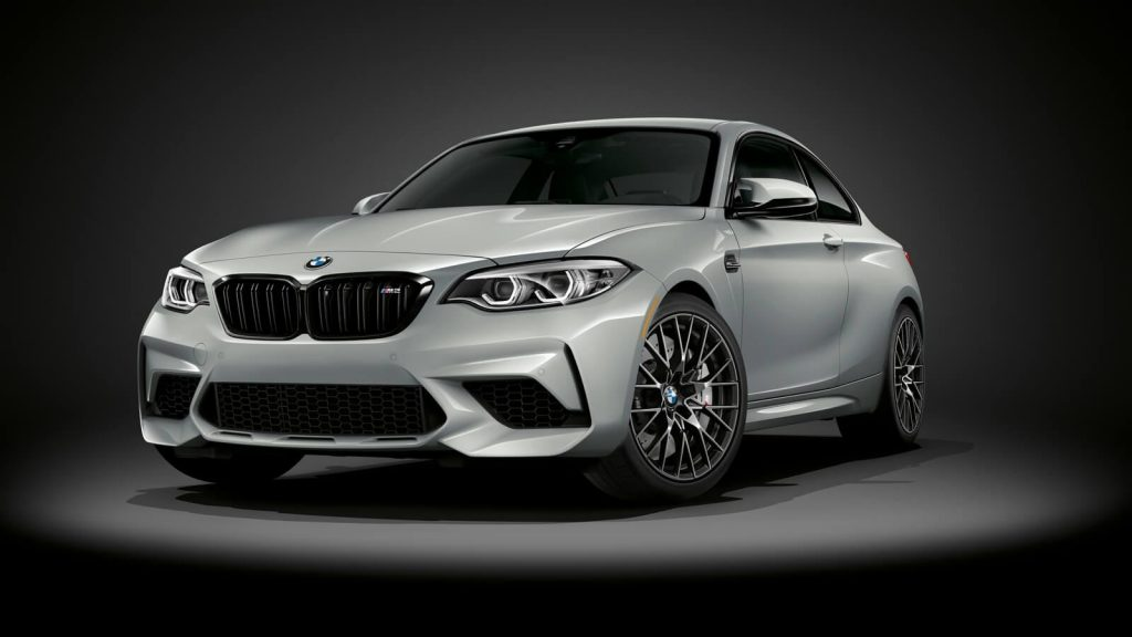 2021 BMW M2 Competition in silver