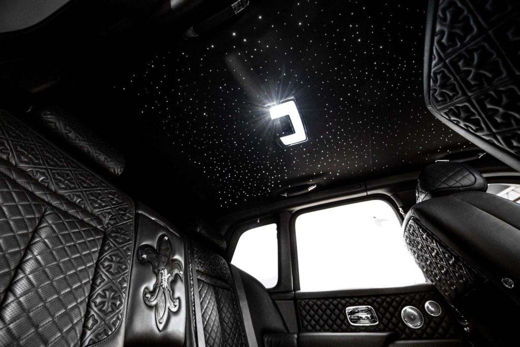 Custom Rolls-Royce Cullinan interior by Drake and Chrome Hearts