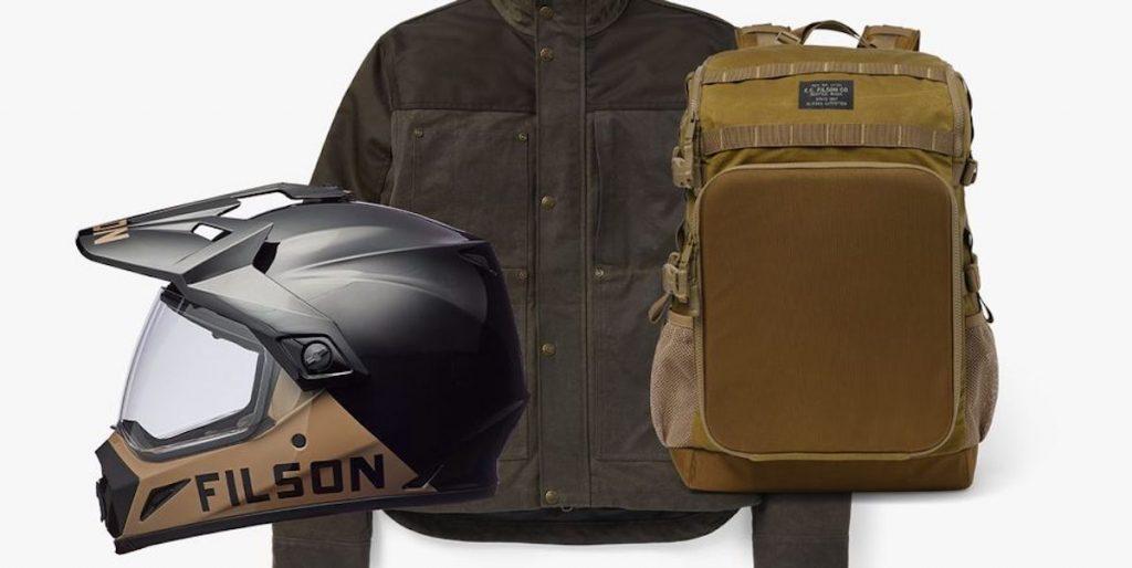Filson motorcycle apparel