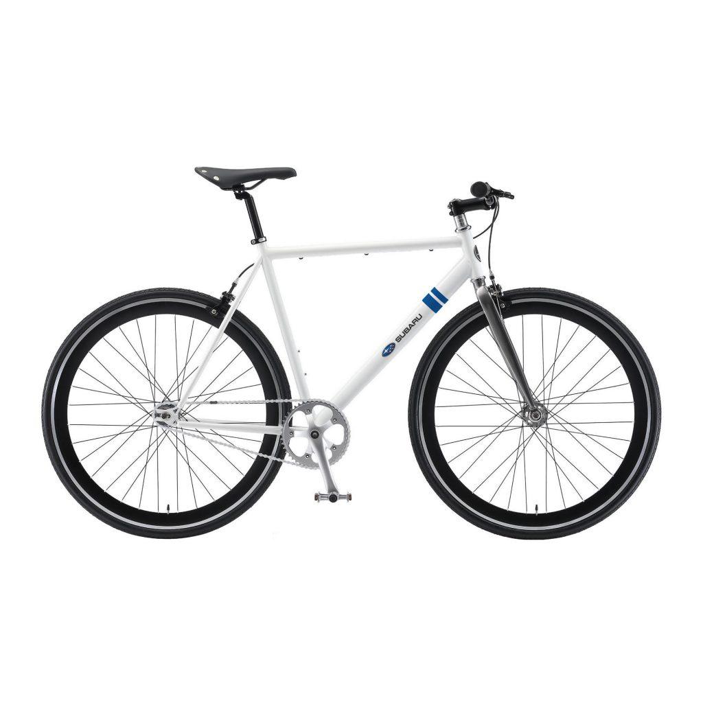 an image of the Subaru Duke II Bicycle in white