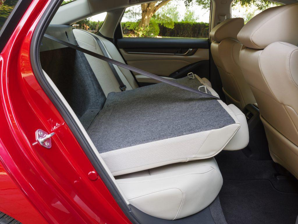 2020 Honda Accord Touring rear seats