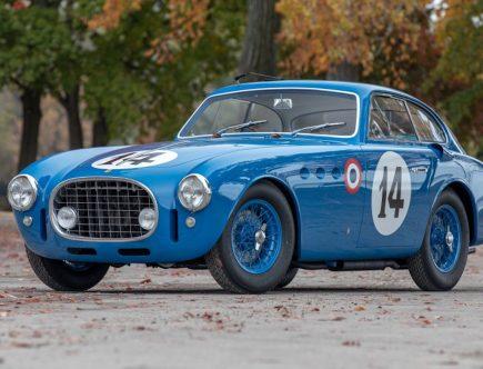 Ultra-Rare $9 Million Ferrari 340 America Racecar Once Sold for $200