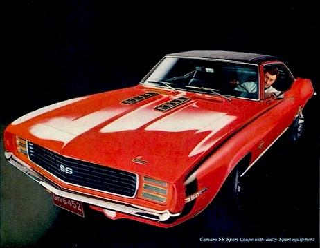1969 Camaro in Hugger Orange