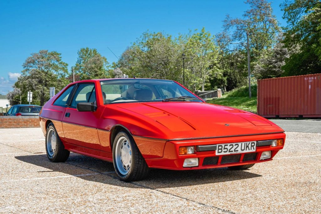 this red 1984 Lotus Excel is the most affordable vintage lotus