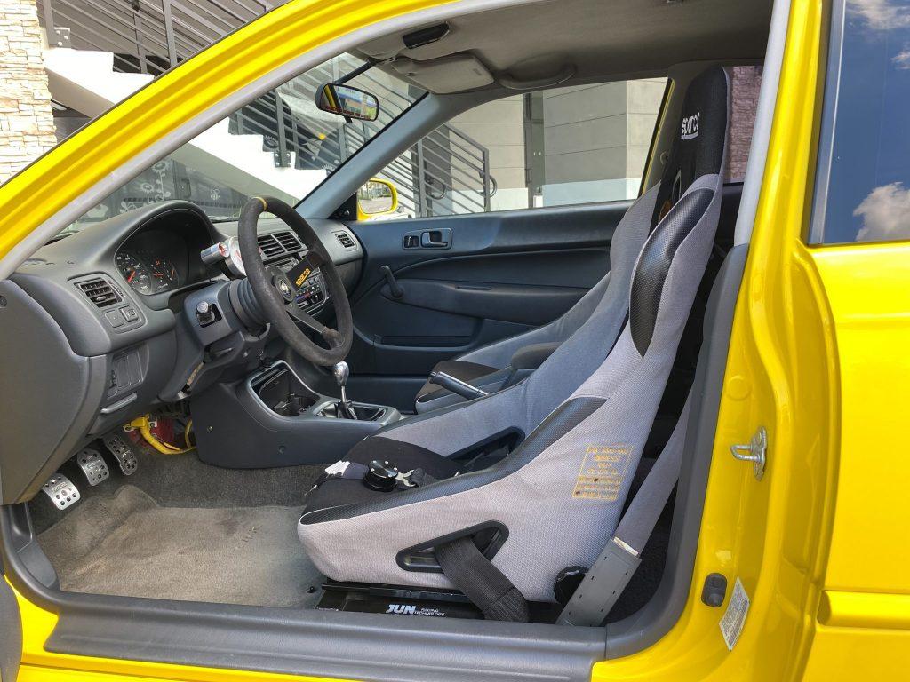 an interior shot of the The Jun Auto Civic