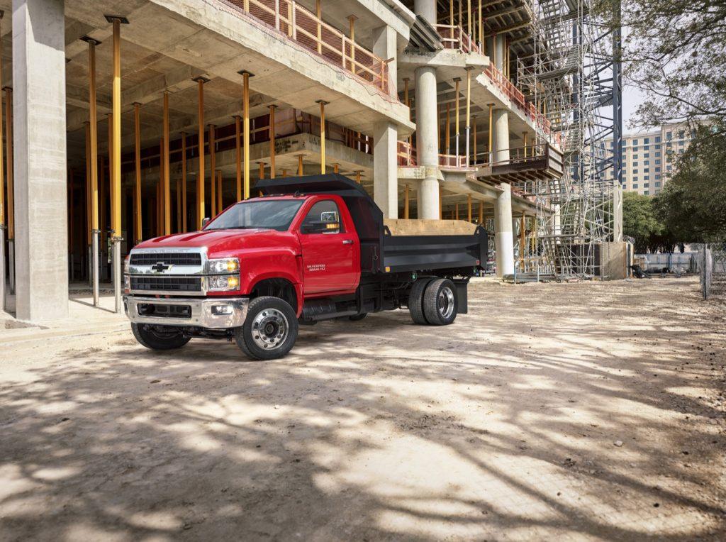 2019 Chevy Silverado Medium-Duty truck | GM