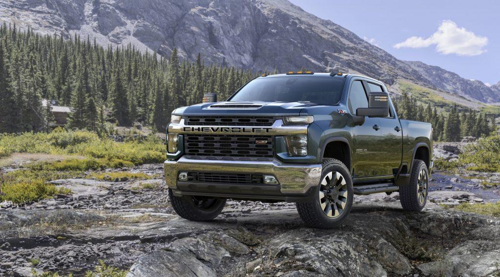 Big trucks like the 2021 Chevrolet Silverado 2500HD are in the news
