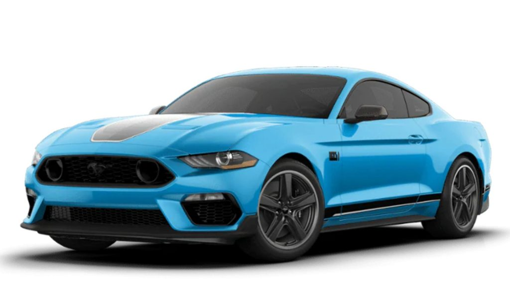 2021 Ford Mustang Mach 1.
