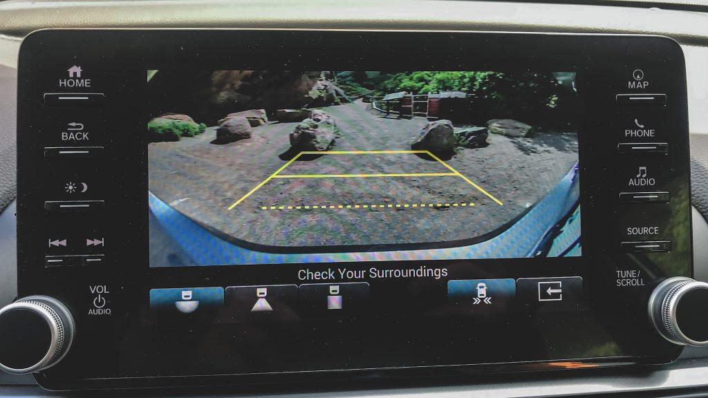 2021 Honda Accord rearview camera