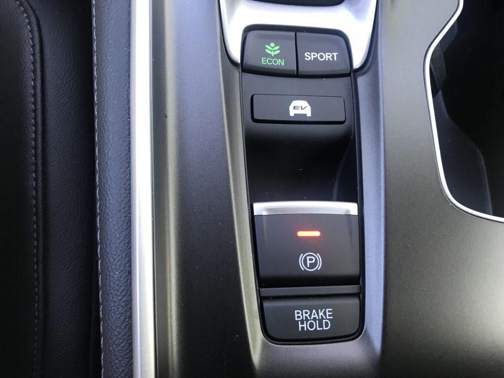 2021 Honda Accord Parking Brake