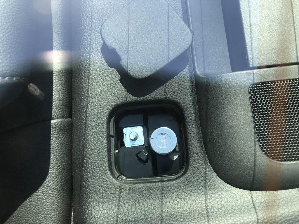 2021 Honda Accord trunk key slo