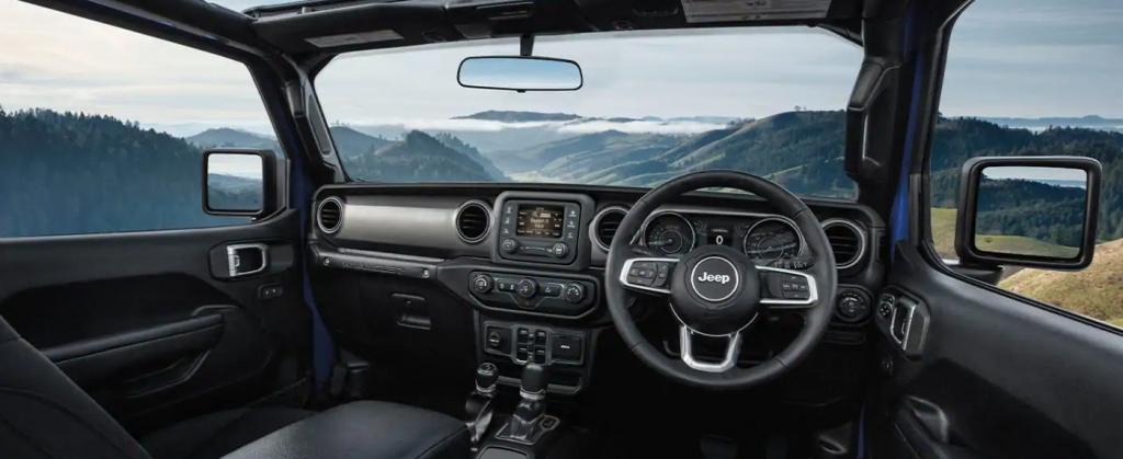 2021 Jeep Wrangler RHD Interior