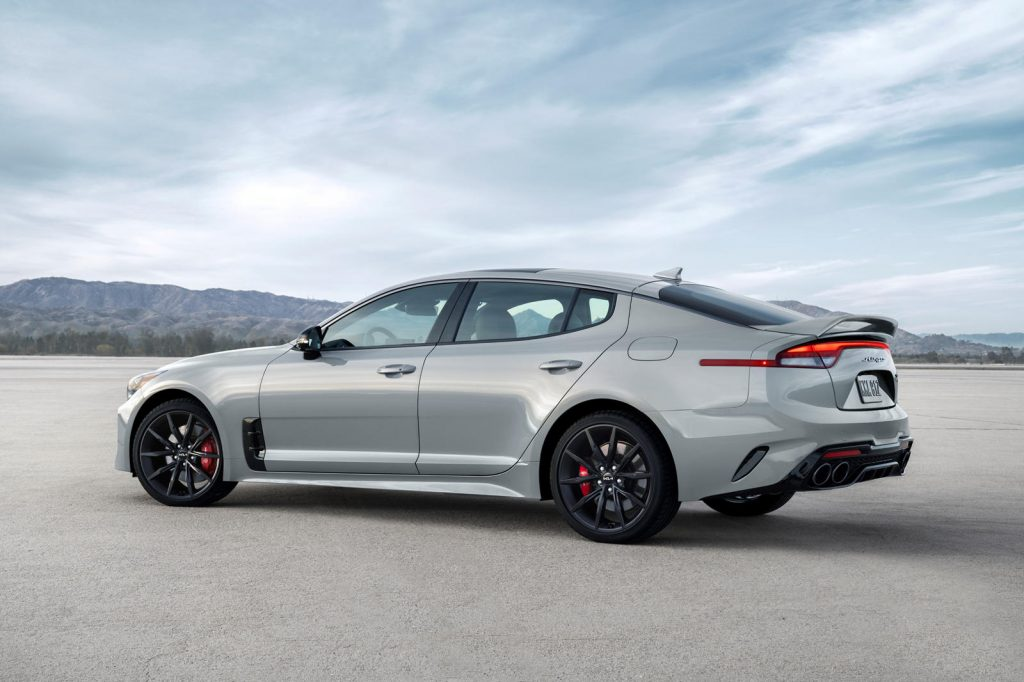 the 2021 kia stinger on sale for the 4th of july
