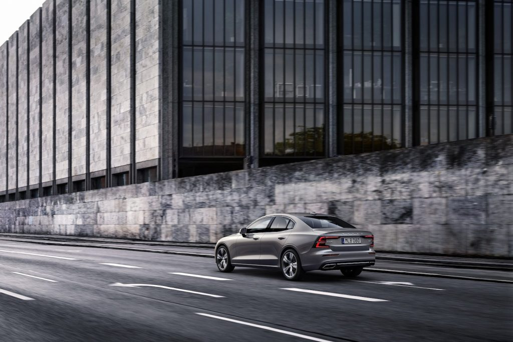 2021 Volvo S60 Inscription, in Pebble Grey metallic, one of the best new cars under $50,000