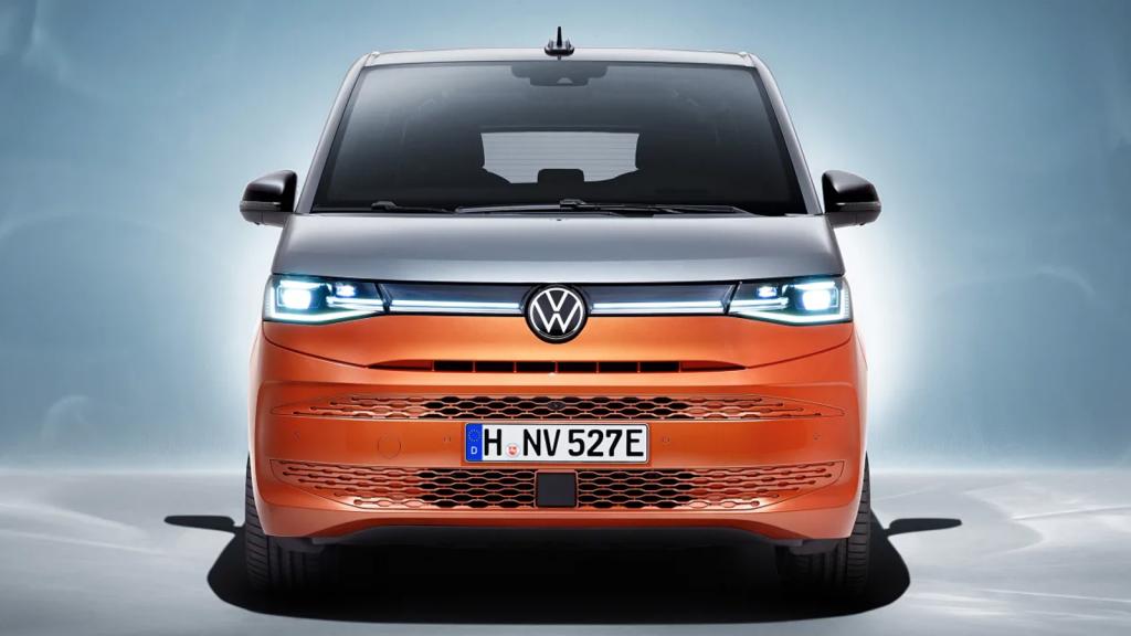 2022 Volkswagen T7 Multivan front view