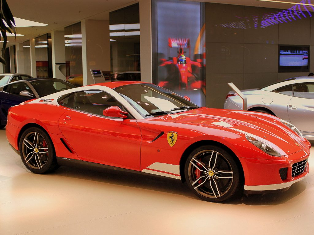 599 GTB 60F1 Alonso in showroom