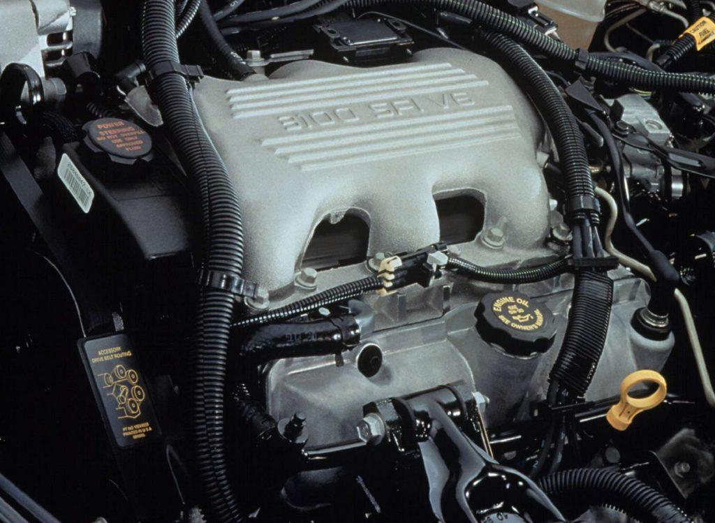 A GM LG8 3.1-liter V6 as used in a 2002 Chevrolet Malibu