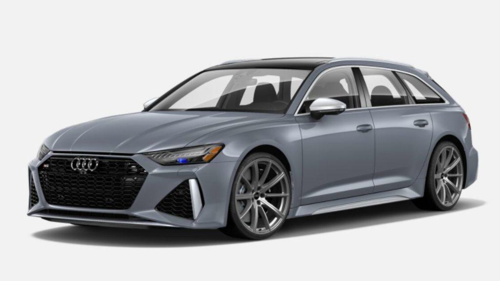 The 2021 Audi RS6 Avant.