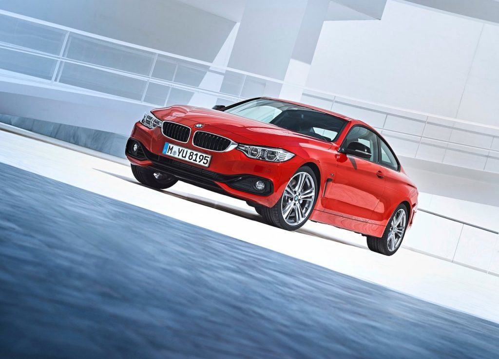 An image of a BMW outdoors.