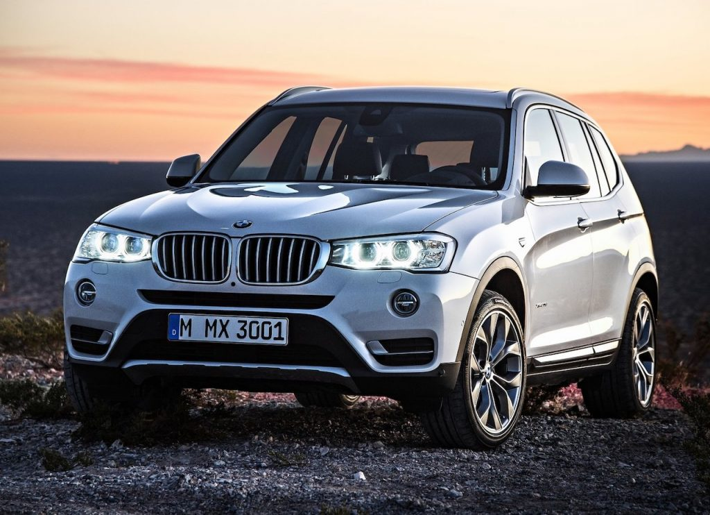 An image of a BMW outdoors, one of the vehicles Consumer Reports gave the 'Never Buy' Label.