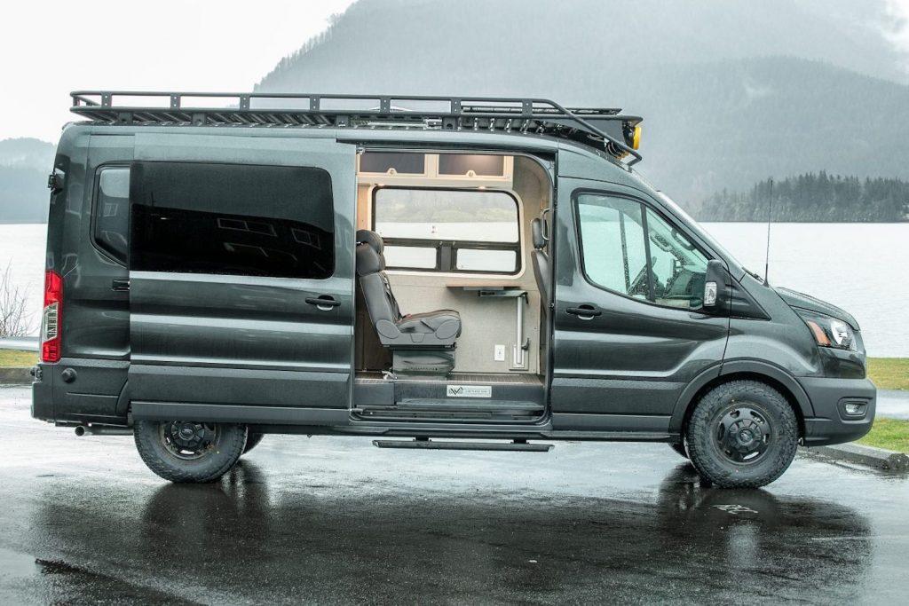Profile shot of the Limitless Van.
