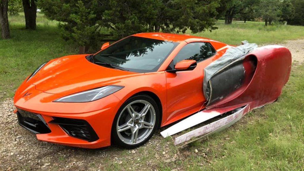C8 Corvette project in mid-development