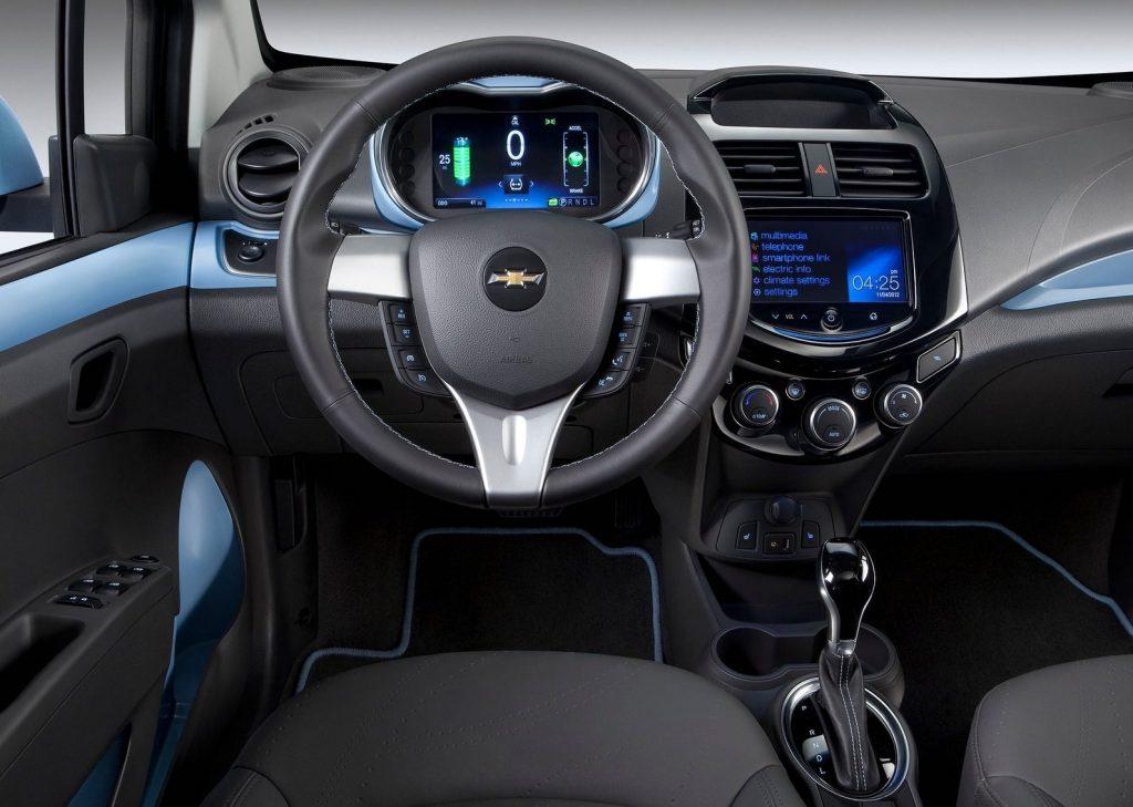 2014 Chevy Spark interior