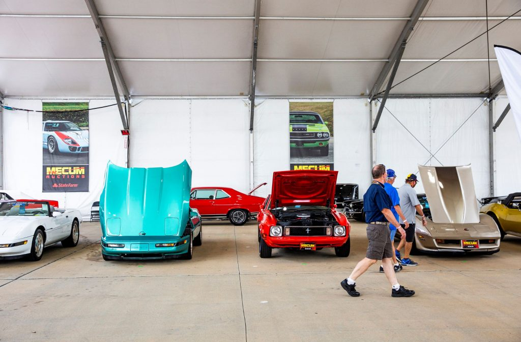 Classic cars up for auction at the 2020 Mecum Kissimmee Summer Special
