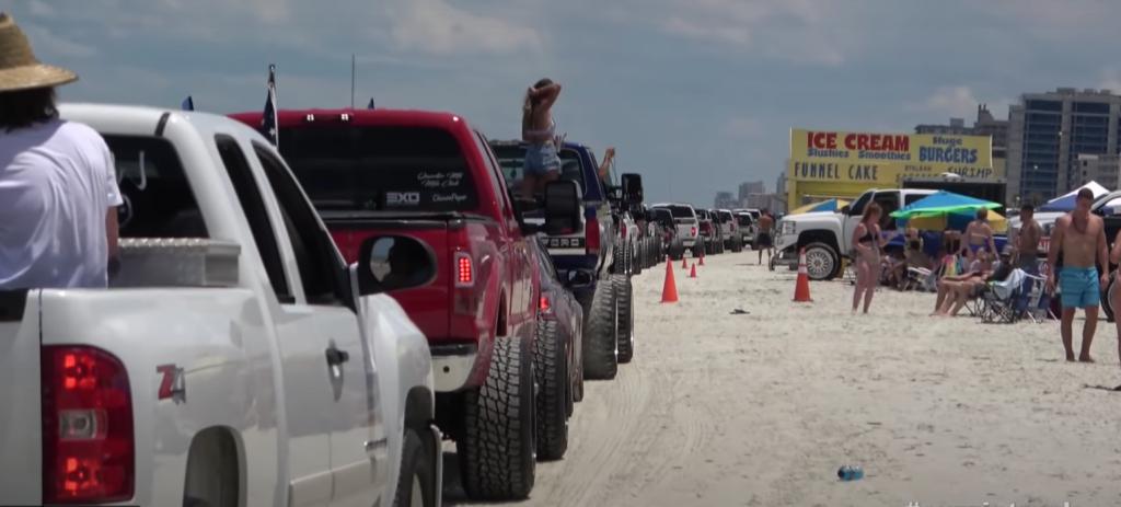 Daytona Beach 2021 Truck Meet on Daytona Beach