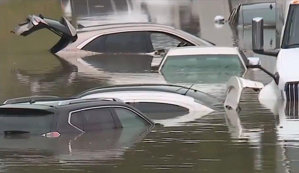 Detroit area flooded