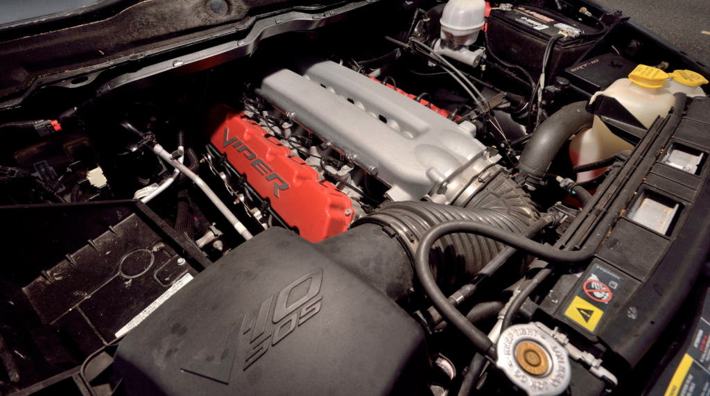 Dodge Ram SRT-10 Viper Truck engine compartment
