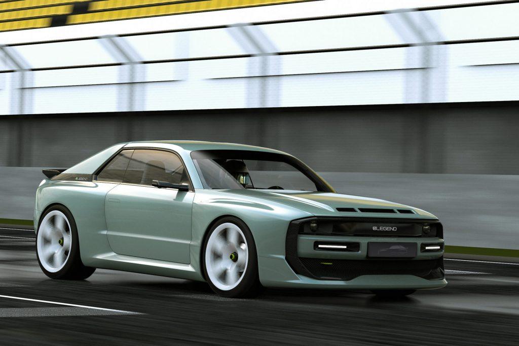 E-Legend EL1 Audi Sport Quattro-like sedan