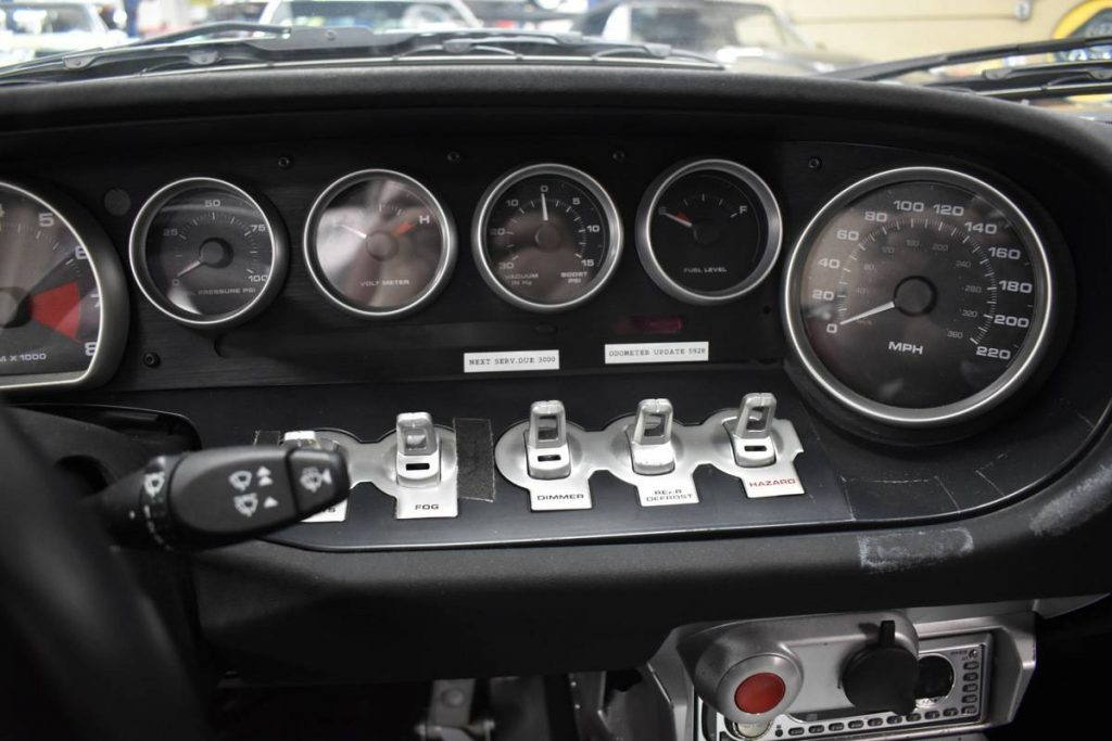 First running Ford GT prototype dash